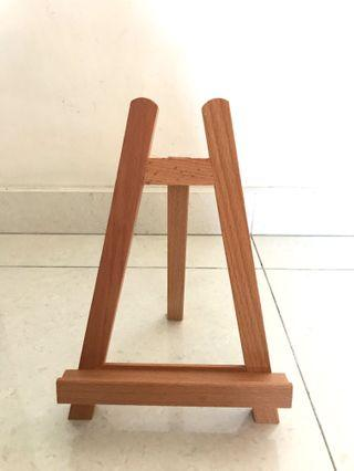 Wooden Mini Easel/ Stand