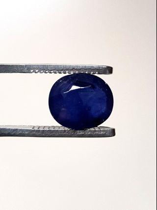 Heated Sri Lanka Blue Sapphire/Natural Ceylon Blue Sapphire