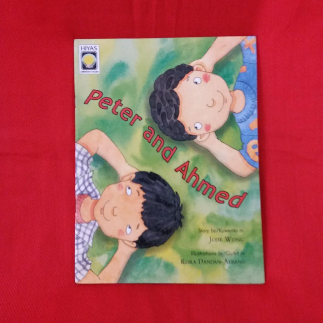 3 Children's Story Books (HIYAS) Sandosenang Sapatos, Peter and Ahmed, Basta Ayoko Pang Matulog!