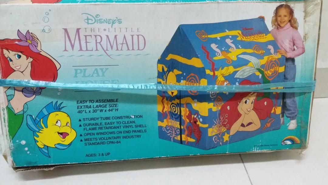 The Little Mermaid, Play House小魚仙露營