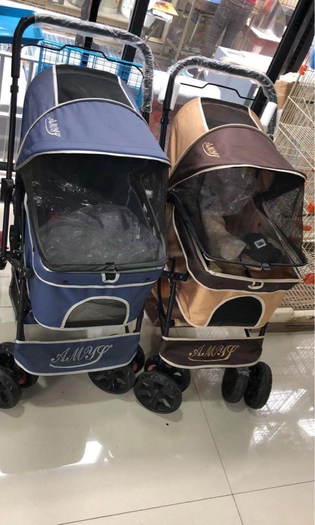預訂款 AMYS 雙向寵物推車 四輪雙向手推車 寵物車 狗推車 寵物推車