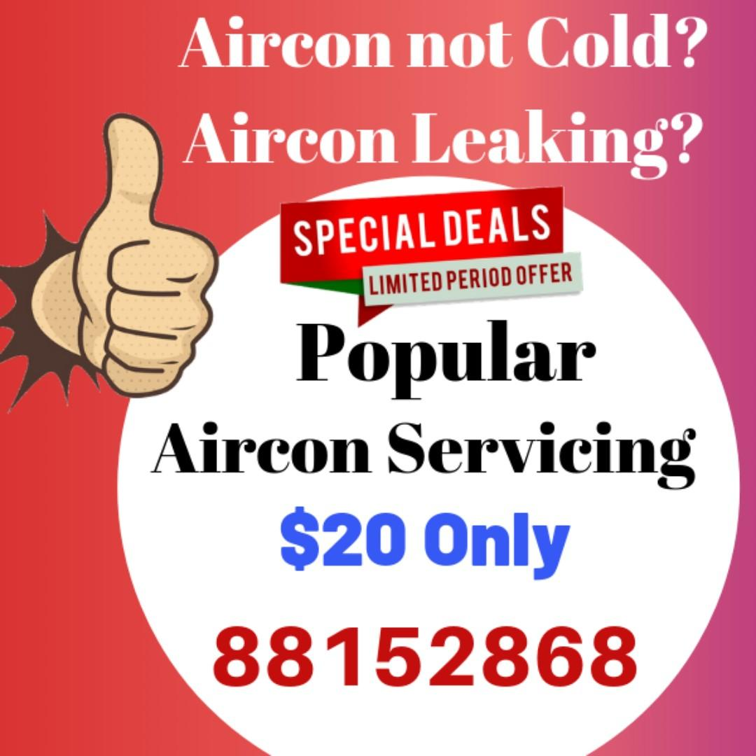 Aircon Servicing Promotion