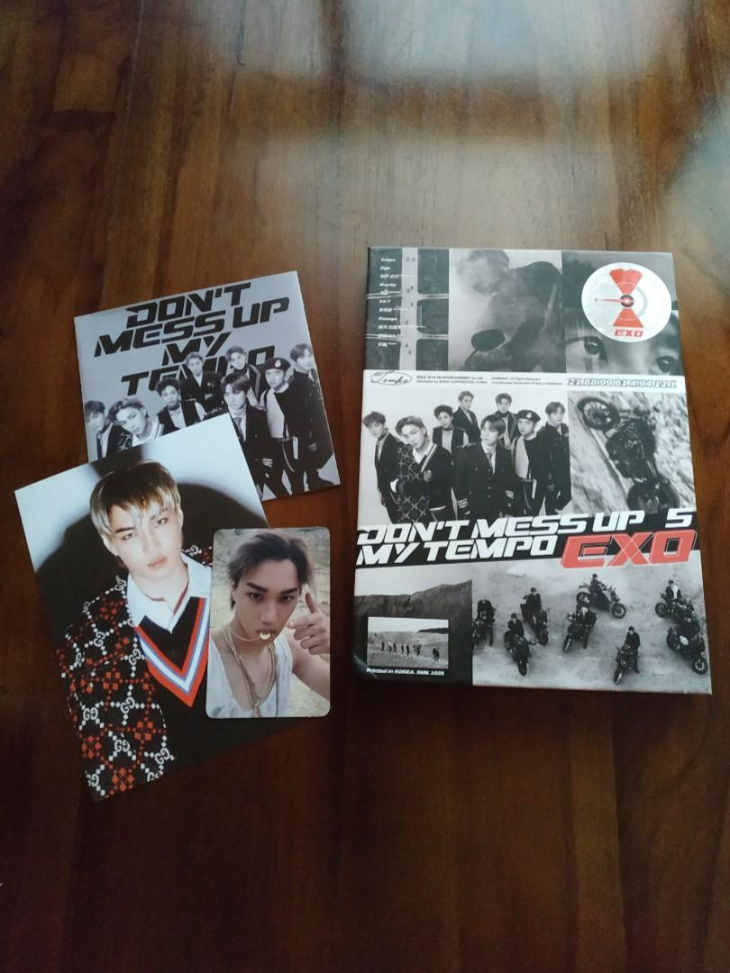 Album EXO 'DON'T MESS UP MY TEMPO' (DMUMT) Allegro Ver. + PC & Postcard Kai