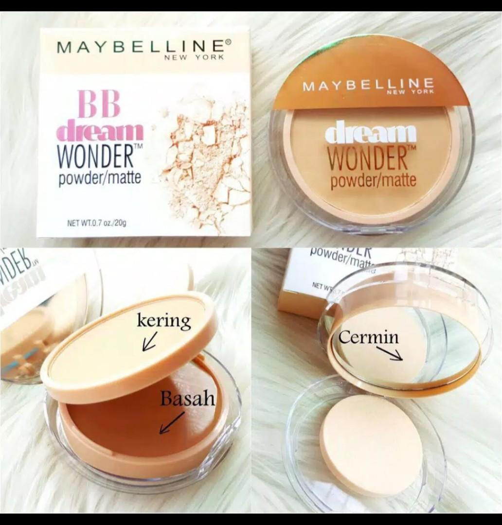Bedak maybelline BB dream wonder powder