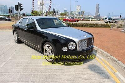 BENTLEY MULSANNE V8 GT 2012/2013