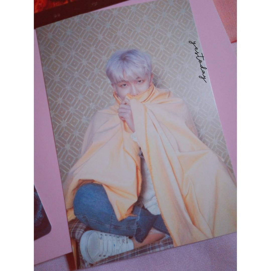 BTS RM RAP MONSTER POSTCARD PERSONA MAP OF THE SOUL ALBUM