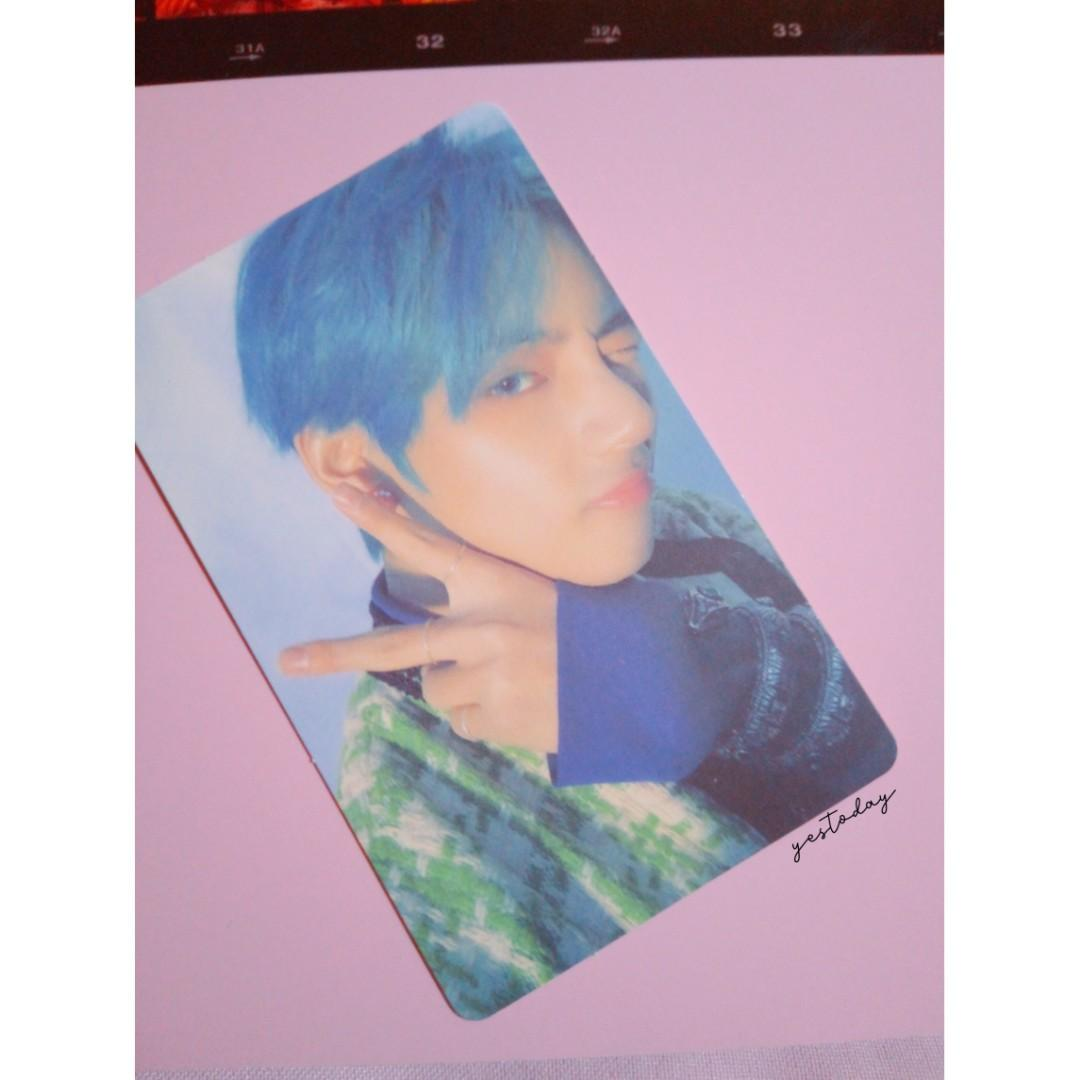 BTS V Taehyung Photocard From PERSONA MAP OF THE SOUL ALBUM