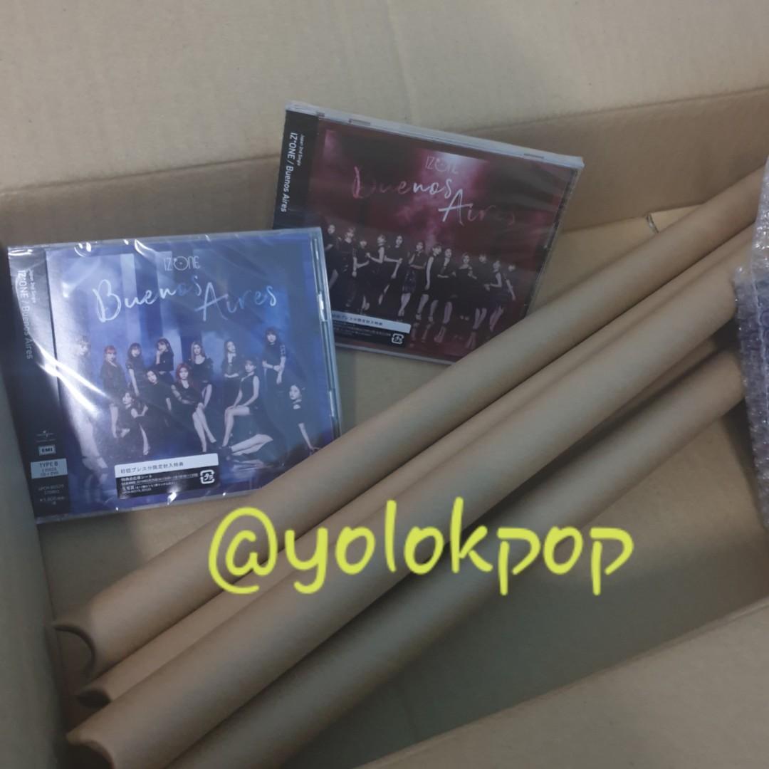 [CD+DVD+PC+POSTER/STICKER] IZ*ONE Buenos Aires Album IZONE First Press Edition