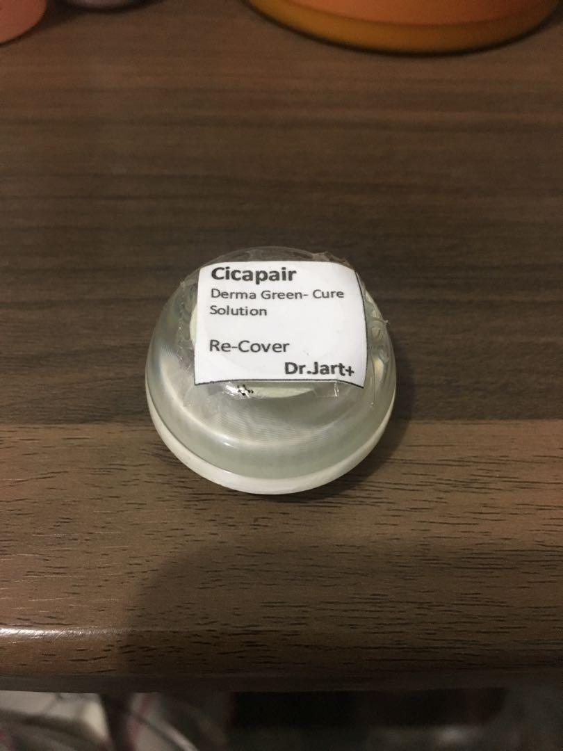 Cicapair Derma Green-Cure Solution // Share in jar