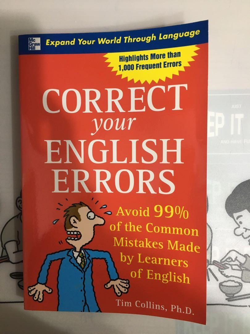 CORRECT your ENGLISH ERRORS