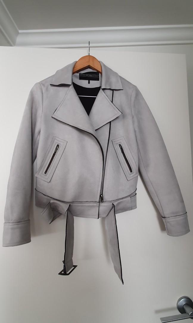 Decjuba suede style 'Palermo' jacket - Sz 8