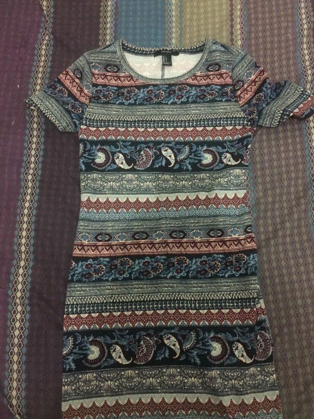 F21 dress motif