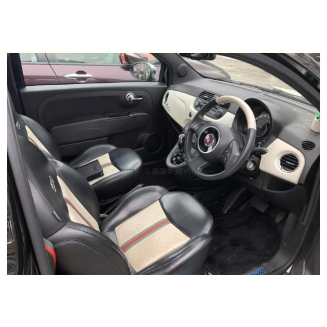 FIAT 500 1.4 LOUNGE GUCCI 2012