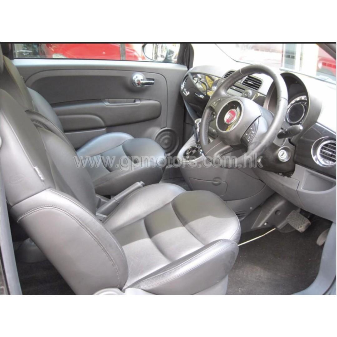 FIAT 500 CAB 2012