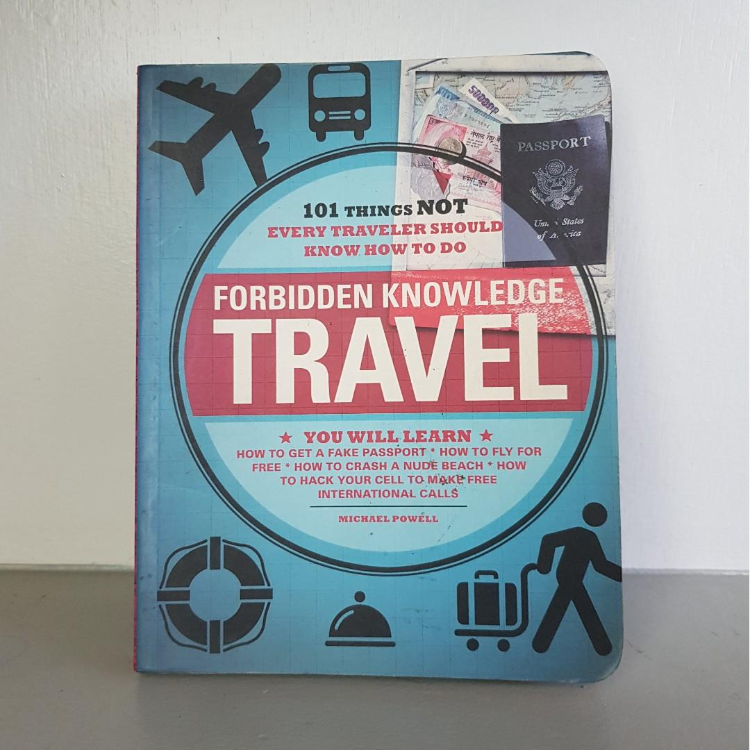 Forbidden Knowledge Travel Book on Carousell