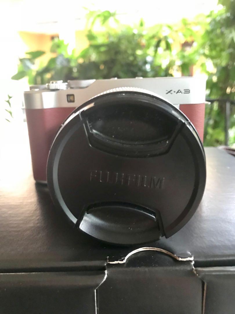 Fujifilm XA3 Mirrorless