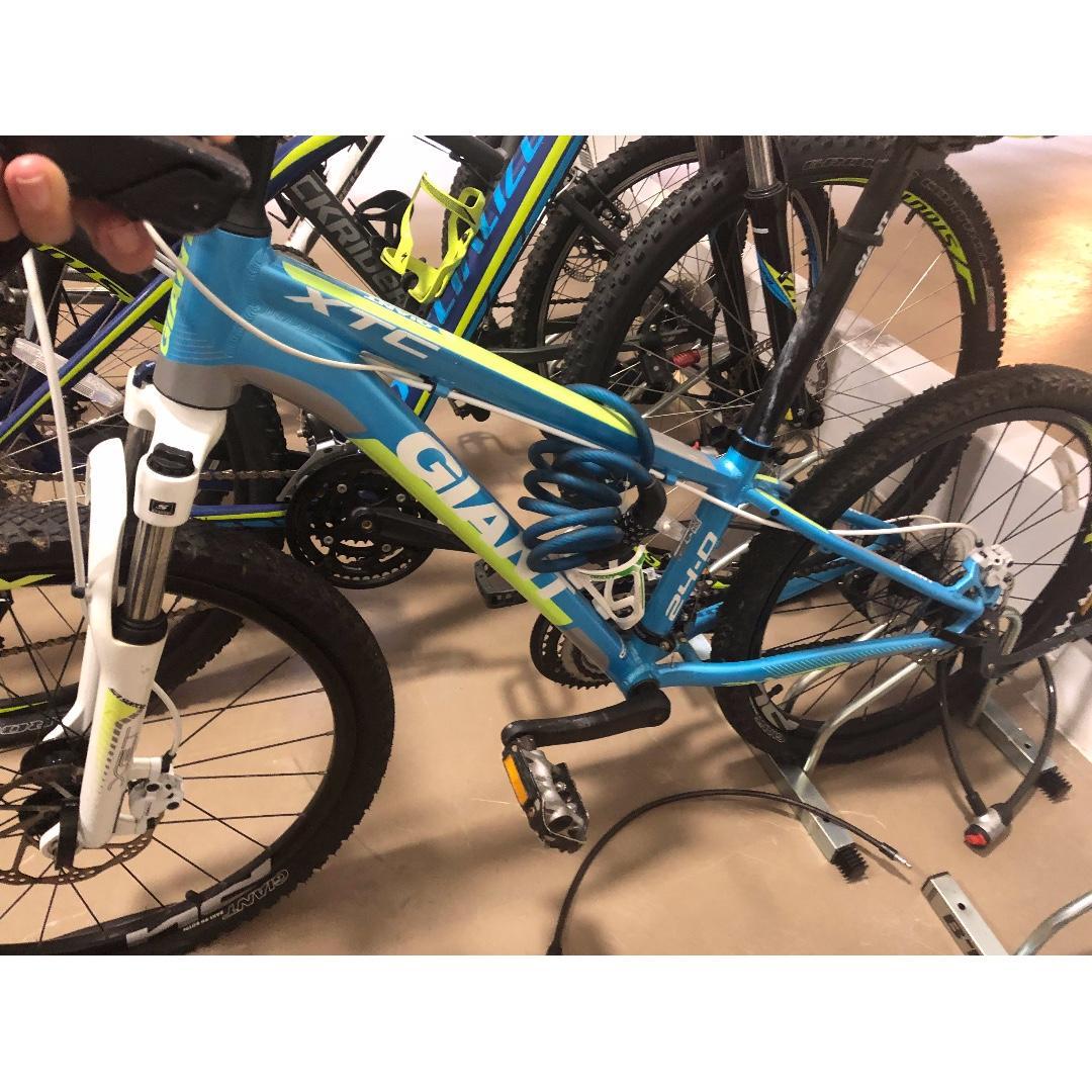 d6bc4970 GIANT XTC JR 24 D BLUE/ YELLOW Kids mountain bike, Bicycles & PMDs ...