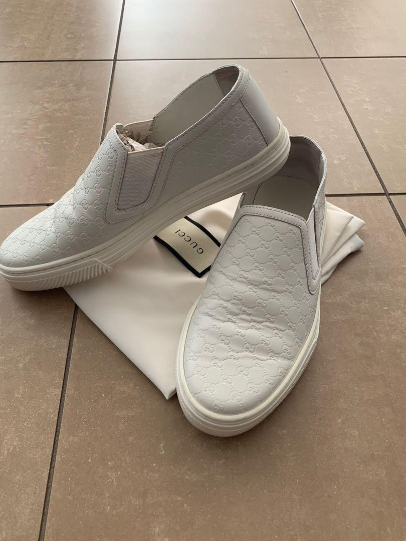PRICE DROPPED Gucci Slip On Sneakers 35.5 (fits 36)