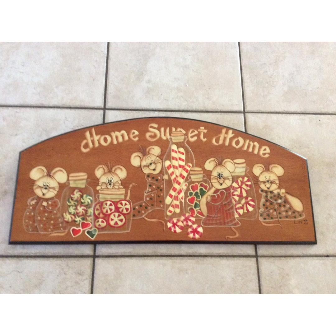 Home Sweet Home wooden board ( large)