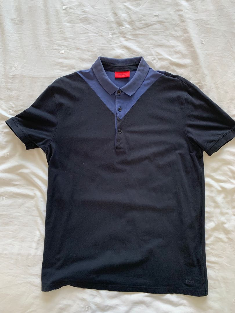 dd002eced11cd Hugo Boss Red Hugo Polo, Men's Fashion, Clothes, Tops on Carousell