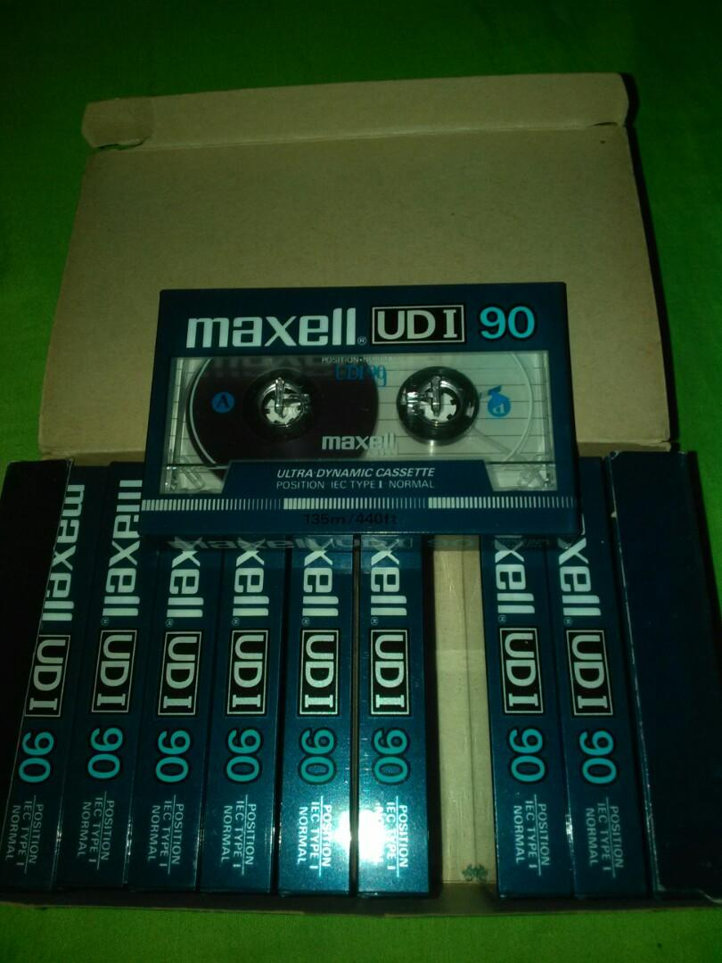 Kaset kosong maxell UD 1 90