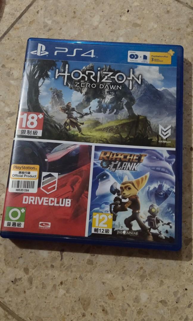 Kaset PS4 horizon zero dawn