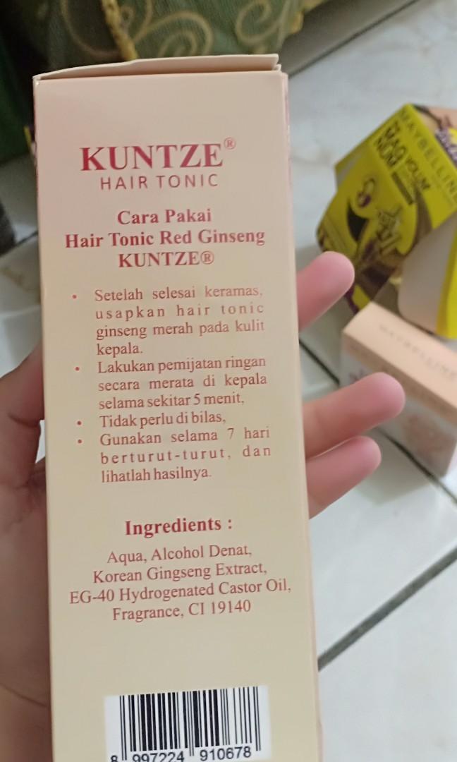 Kuntze Hair tonic