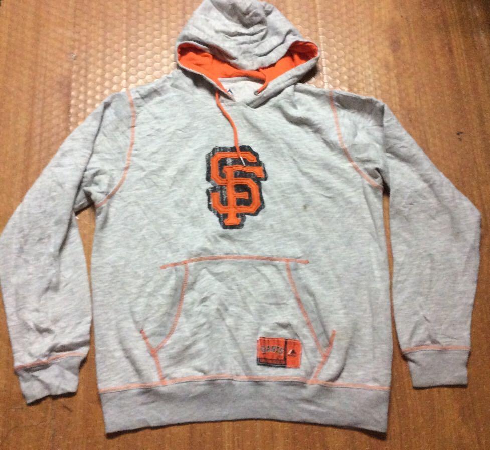 innovative design c55c9 78c8c Majestic San Francisco Giants Hoodie Jacket Authentic on ...