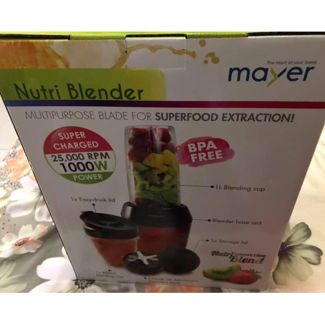 Mayer Nutri Blender MMNB 1000- PRICE DIPP