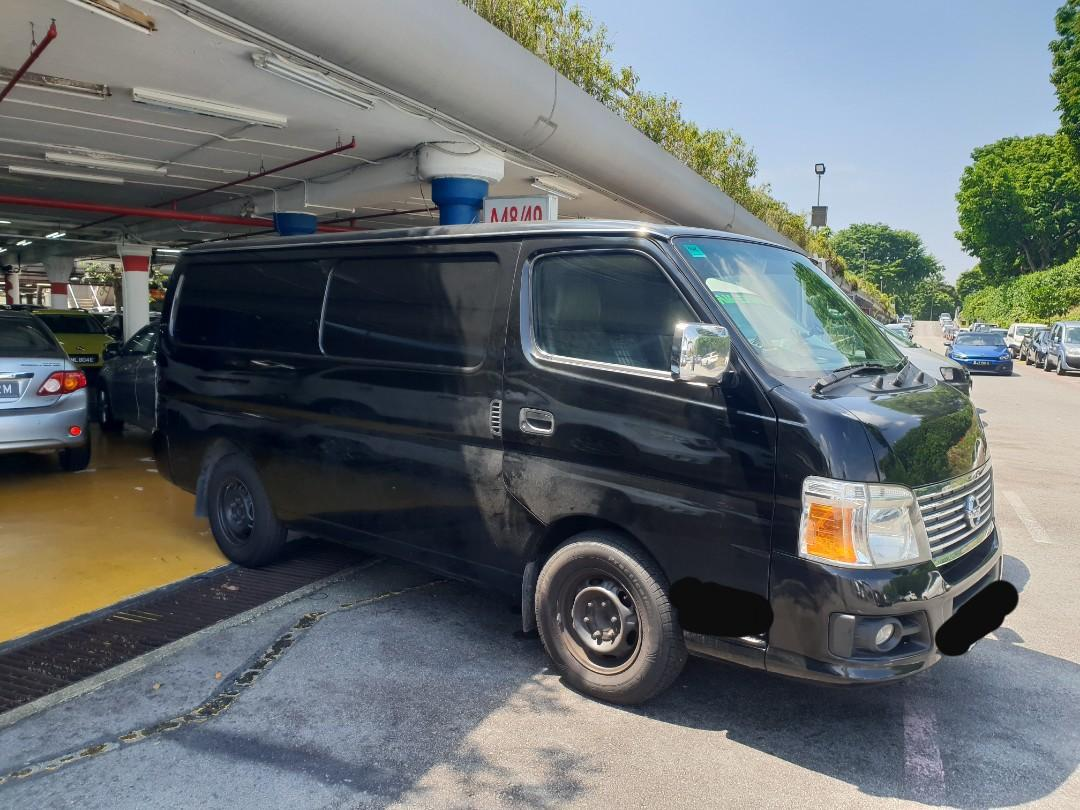 Nissan Van Rental
