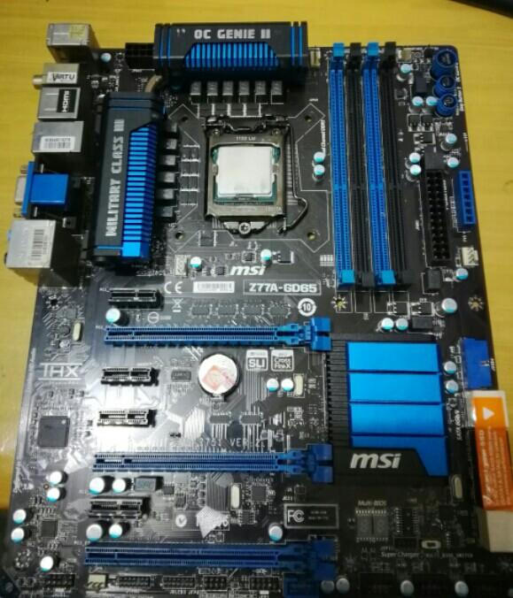 Pc i7 2600k mabo MSI Z 77A-GD 65