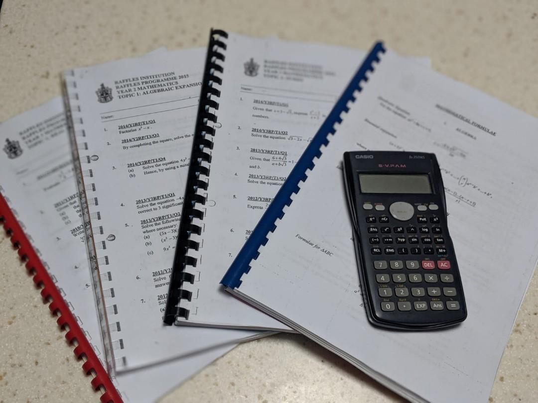 [PO] Cambridge Math Exam Exercises