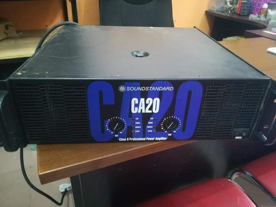 power amp ca20 sound standard