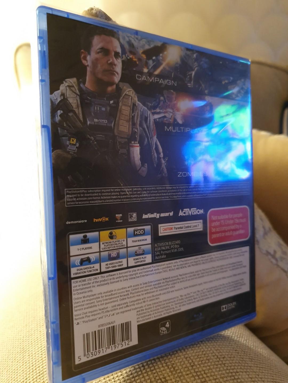 PS4 Call of Duty Infinite warfare BNIB (Brand new)
