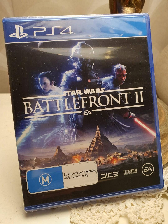 PS4 star wars battlefront 2 BNIB (Brand new, sealed)