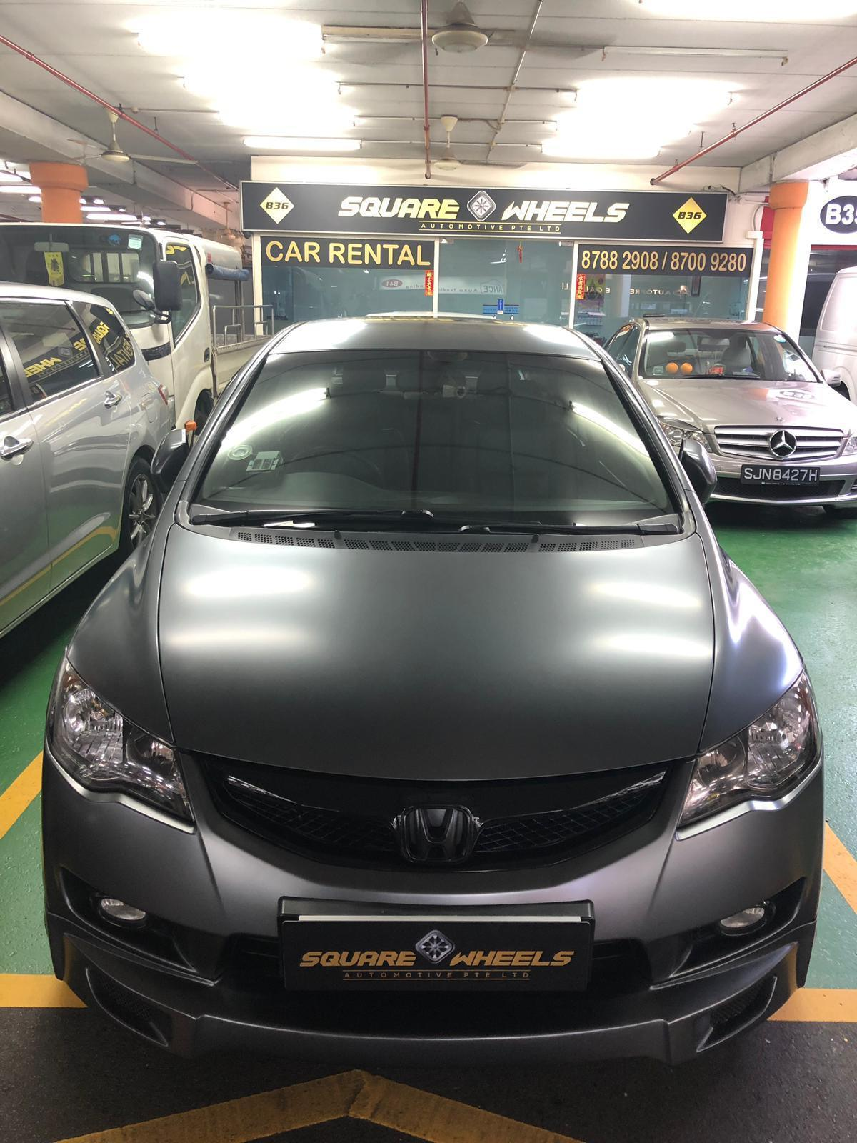 Sporty Civic For Daily Rental!! No Deposit!!