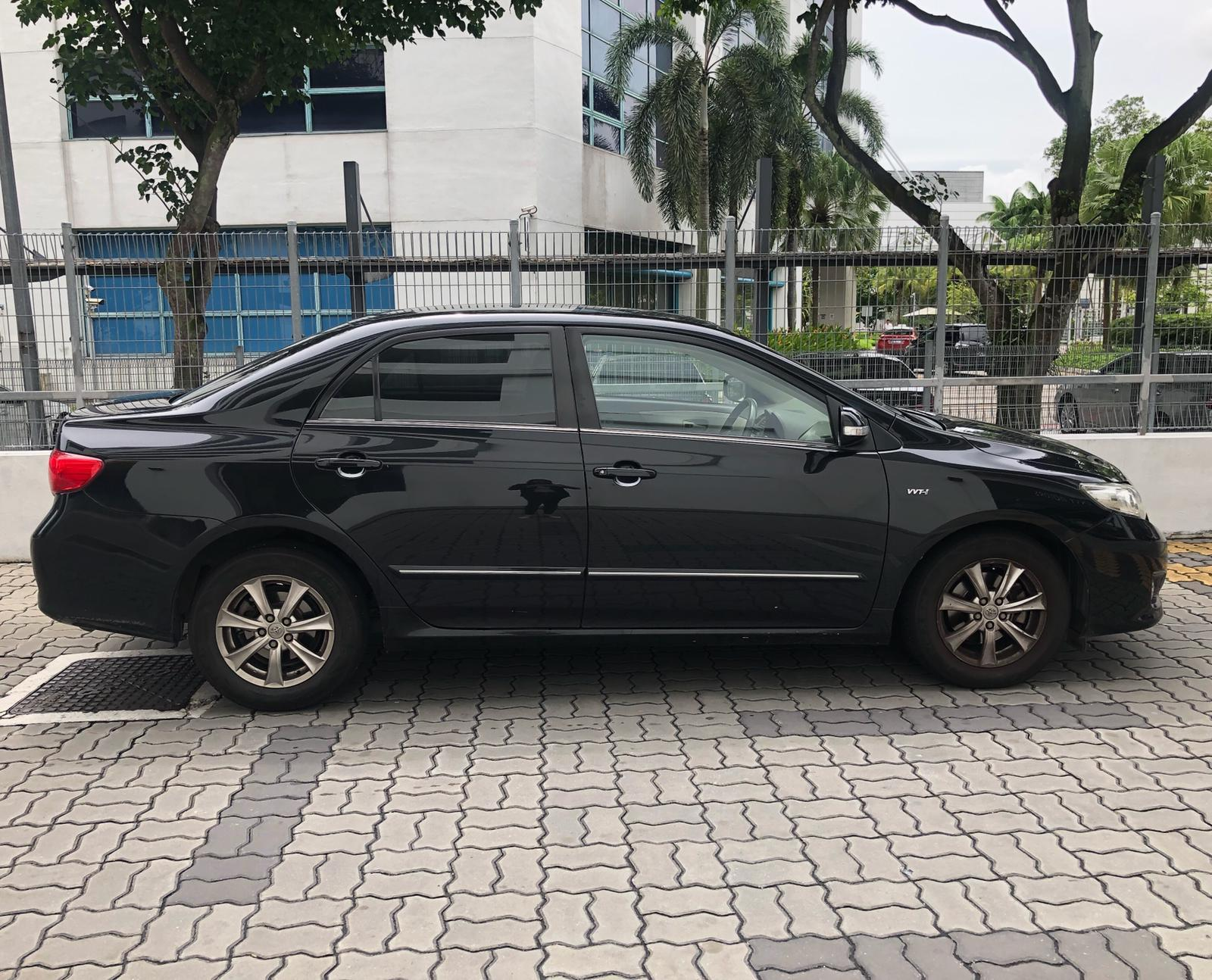 Toyota Altis 1.6a RENT $50 per day PHV  For Rent  Grab Rental Gojek Or Personal Use Low price and Cheap