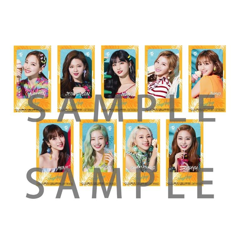 TWICE 4th & 5th Japan Single HAPPY HAPPY & Breakthrough [MORE PICS IN ORDER LINK]