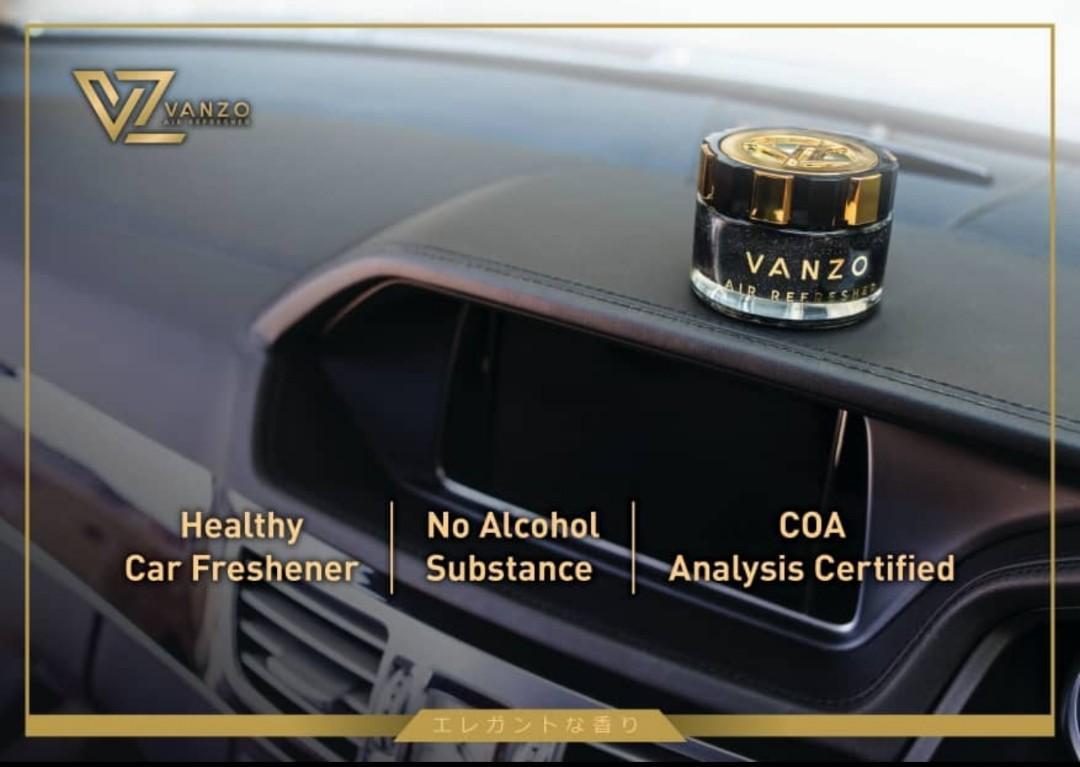 Vanzo Healthy Car Perfume Air Freshener Luxury Car Perfume & Accessories.