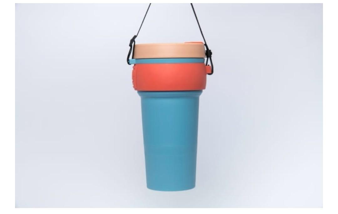 (唔賺錢)WAYCUP 威客杯 800ml 極大容量 可折疊環保杯 組團購 似stojo