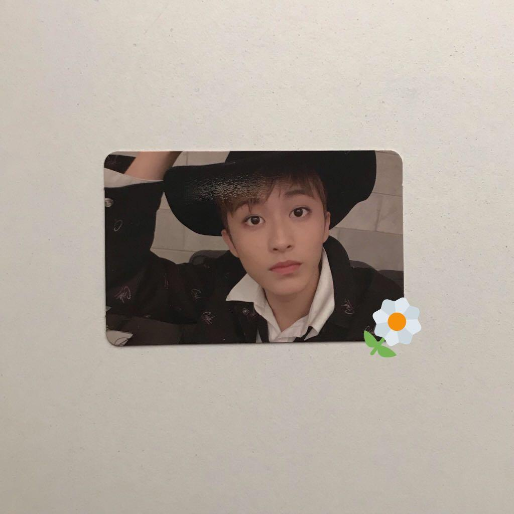 WTS NCT 127 MARK CHERRY BOMB OFFICIAL PC