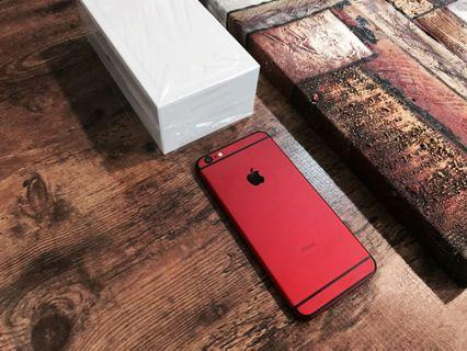 IPHONE 6 PLUS 128GB RED OFFICIAL