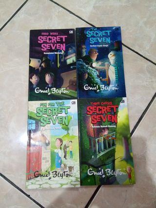 Novel Sapta Siaga the series