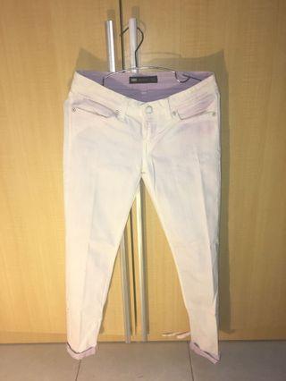 White Jeans Levis