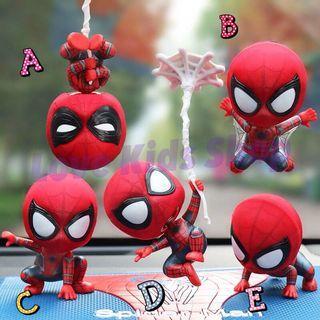 ❤️大減價《香港正貨》超可愛搖頭蜘蛛俠擺件🥰冰箱貼 磁力 玩具擺件
