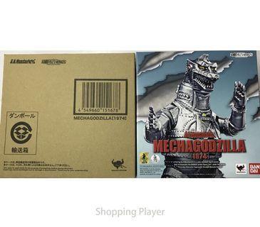MechaGodzilla 1974 S.H.MonsterArts Bandai Tamashii Nations Godzilla action figure toy