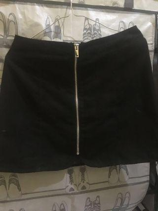 Hnm skirt / zip up skirt / h&m skirt #oktosale
