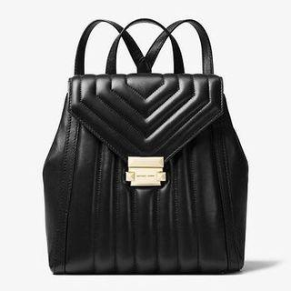 MICHAEL KORS Whitney Quilted Leather Backpack 羊仔皮背包