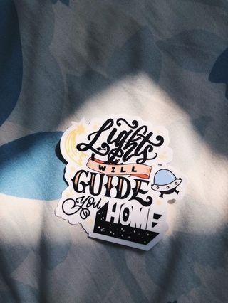 lyric sticker