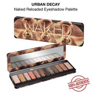 BNIB URBAN DECAY Naked Reloaded Eyeshadow Palette AUTHENTIC